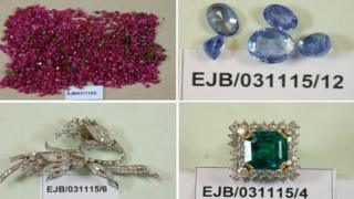 Items found by police following the Hatton Garden raid