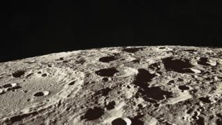 Lunar surface, the Hadley-Apennine region of the Moon