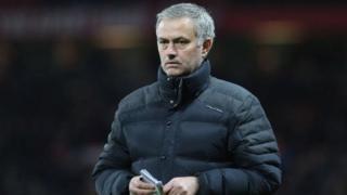 Jose Mourinho kocin Manchester United