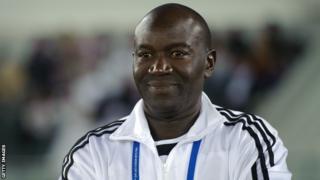 Senegalese coach Lamine Ndiaye