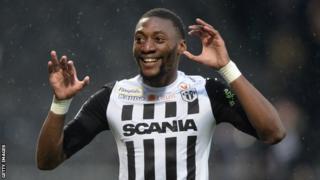 Cameroon and Angers forward Karl Toko Ekambi