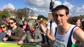Phil Burden, 2016 Plymouth half marathon winner