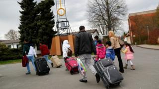 لاجئون سوريون في ألمانيا