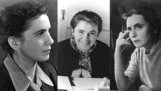 Olga Ladyzhenskaya em três momentos da vida