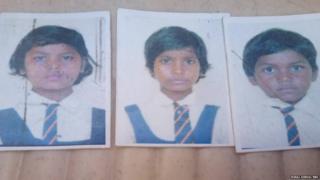 महिमा (बाईं तरफ), अंजली (बीच में) और कृष