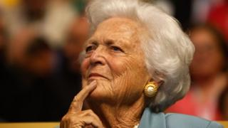 Barbara Bush, photographed in 2008
