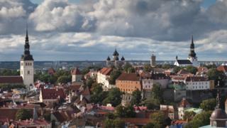 Tallinn skyline, Estonian