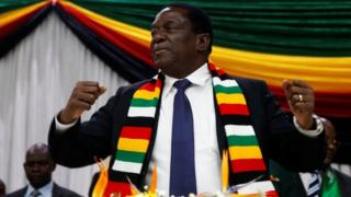 Zimbabwe President Emmerson Mnangagwa announces the date for the general elections in Harare