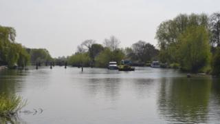 The Thames at Benson
