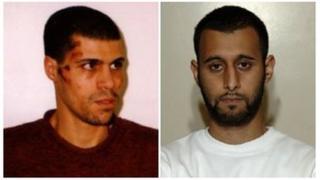 Kamel Bourgass and Tanvir Hussain