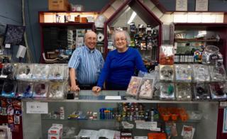 '서커스 오브 북스'의 주인장 베리와 카렌 메이슨 부부