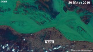 बाढ़ से प्रभावित हुए कई इलाके