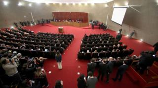 Sessão plenária do TSE para julgamento da Aije 194358. Brasília-DF, 06/06/2017