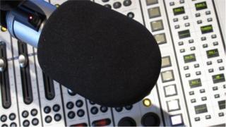 Manx Radio Microphone