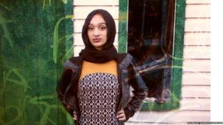 Sondos Lamrhari is the first police student in Quebec to wear a hijab
