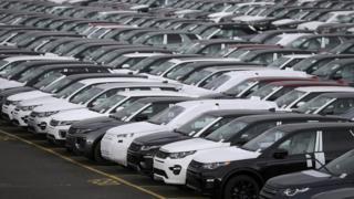 Jaguar Land Rover cars