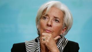 Christine Lagarde in December 2015