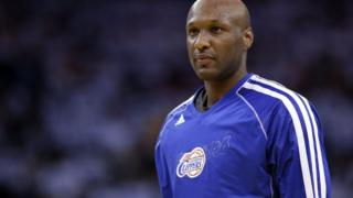 Lamar Odom playing for the Los Angeles Clippers