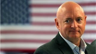 Retired NASA astronaut Mark Kelly