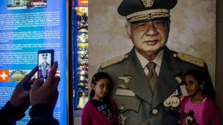 Presiden kedua Indonesia, Soeharto, beberapa kali disebut dalam dokumen rahasia AS terkait Peristiwa 1965.
