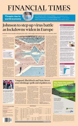 Financial Times 16 March