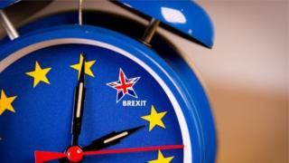 Brexit clock