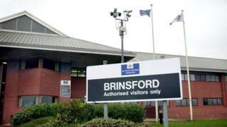 HMP Brinsford sign