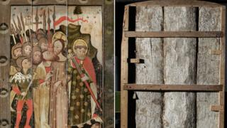 Front and back of The Kiss of Judas
