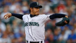 Pitcher Hisashi Iwakuma