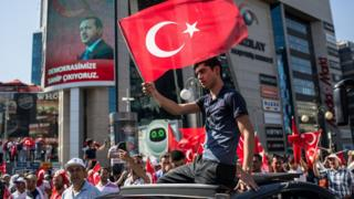 Seguidores de Erdogan