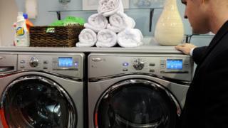ワールプールの洗濯機