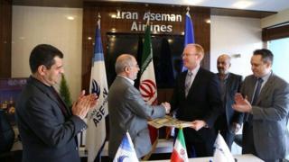 شرکت آسمان مطابق این قرارداد هواپیماهای بوئینگ ۷۳۷ مکس که از تازه تزین تولیدات این شرکت است دریافت خواهد کرد