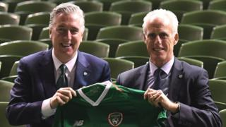 John Delaney and Mick McCarthy
