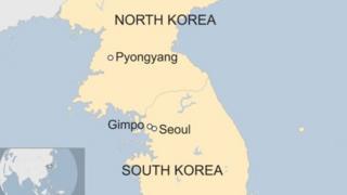 Ramani ya Korea kaskazini