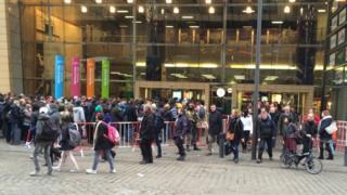 Station queues