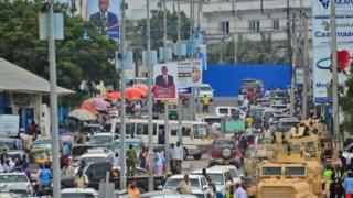 خیابانی در موگادیشو