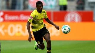 Ousmane Dembele wa Borrusia Dortmund