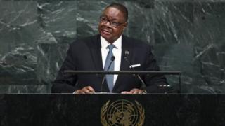 Президент Малаві Пітер Мутаріка
