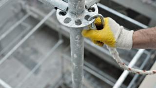 scaffolding stock image