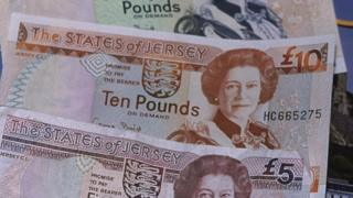 Jersey pound notes