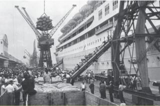 A revitalização do Porto do Rio de Janeiro foi um dos primeiros projetos apoiados pelo BNDES, na década de 1950