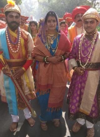शिवाजी महाराज, जिजाऊ आणि संभाजी राजे