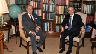 HRH Prince Philip and Lord Browne