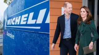 Michelin and Prince William and Catherine