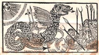 Serpents, owl men and demon dogs