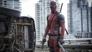 Ryan Reynolds plays masked anti-hero Deadpool