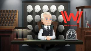 Screenshot from Westworld mobile game