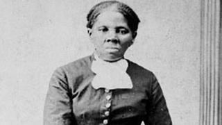 Anti-slavery activist Harriet Tubman seen in a picture from the Library of Congress