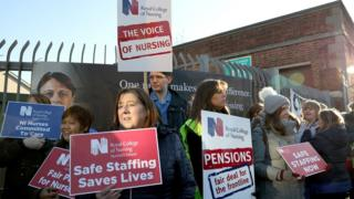 Health strike: Action continues after pay offer rejected