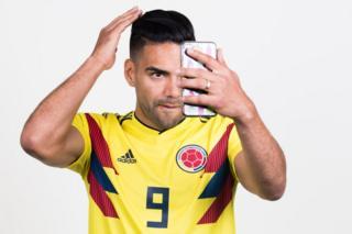 Radamel Falcao of Colombia
